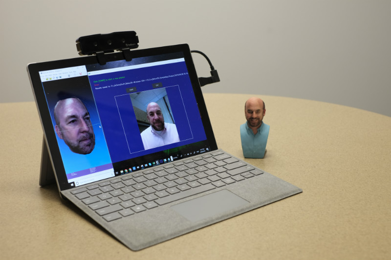 Bellus3D Face Camera Pro configured to use Host Web Camera